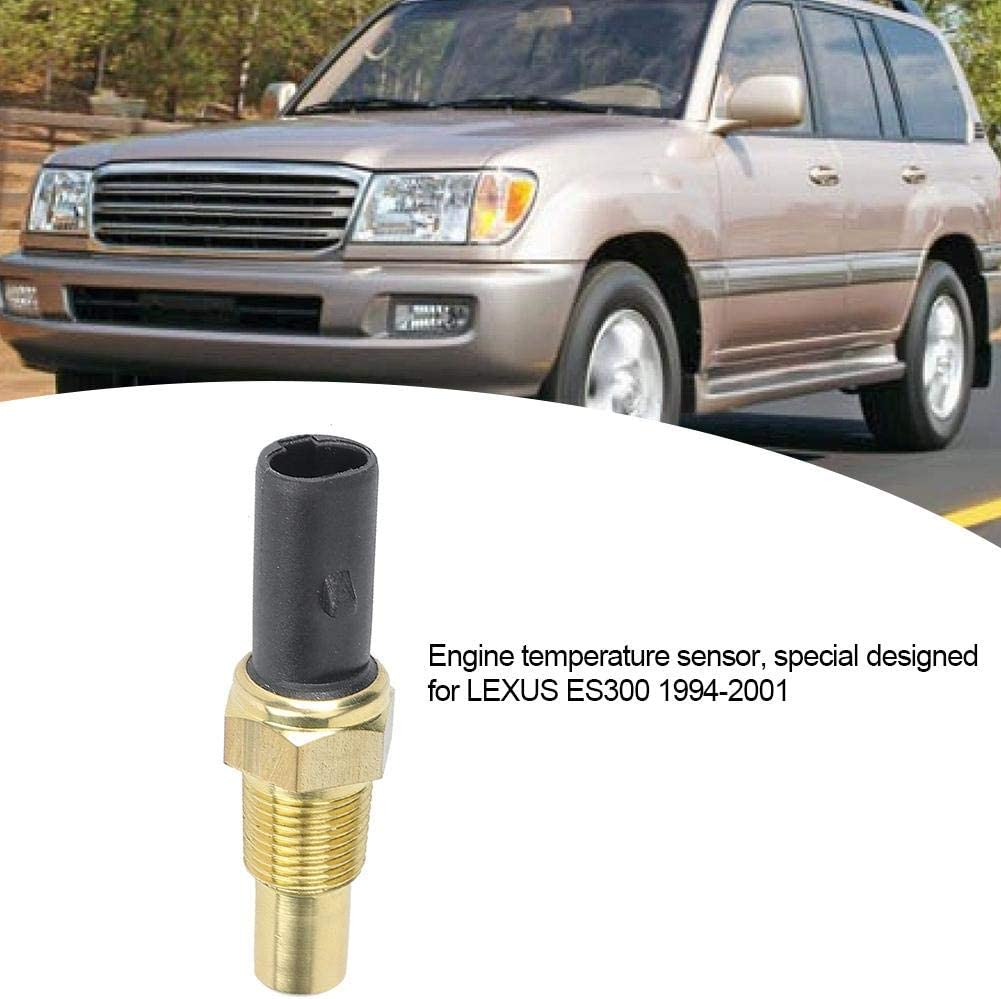 Terisass 83420-AA010 Coolant Temperature Sensor Engine Coolant Water Temp Sensor Temperature Sender for Lexus ES300 GX470 LX470 Toyota Camry Land Cruiser Tacoma Tercel