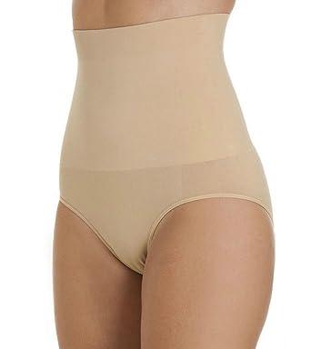 32c0b5866b0a4 Womens Shapewear Seamfree High Waist Slimming Control Briefs Tummy Tuck Bum  Lift From Undercover: Amazon.co.uk: Clothing