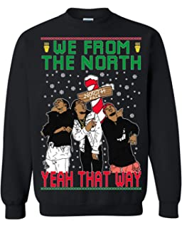 a240e8cfced Ugly Christmas Sweater Migos We from The North Unisex Sweatshirt