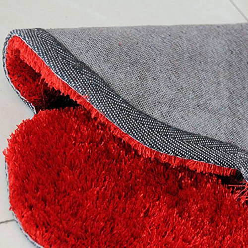 Perfect Amazon.com: Ustide Rose Rug Super Soft Red Mat Solid Color Area  US44