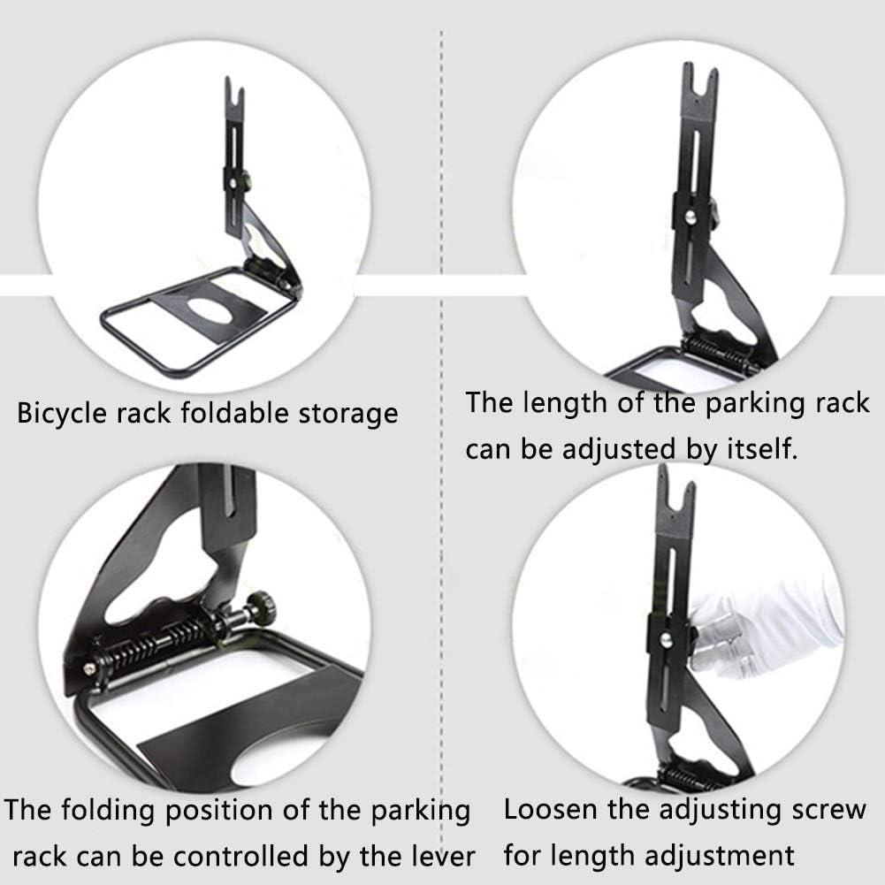 Hanshin Estante estacionamiento Reparaci/ón Pisos al Aire Libre Pantalla Soporte Antideslizante Bicicleta monta/ña Ciclismo Goma port/átil Resistente Pr/áctica Forma U