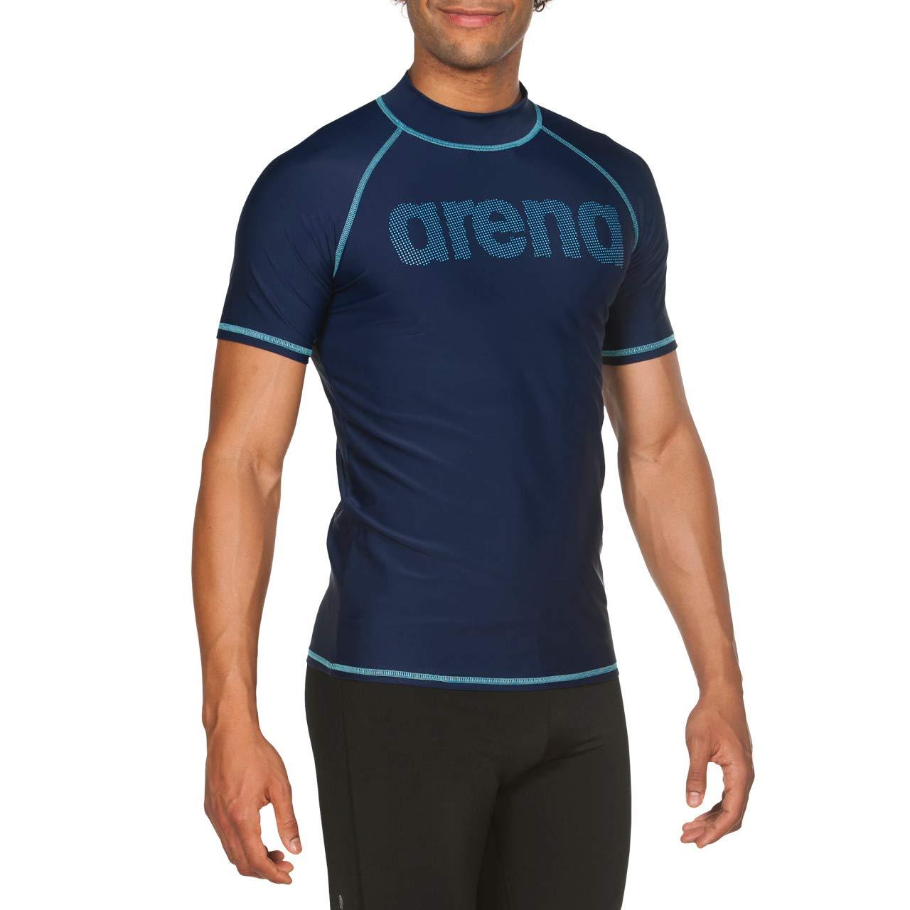 ARENA Man T-Shirt Camiseta De Manga Corta Hombre con Protecci/ón UV