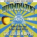 Front cover for the book Illuminatus! Part II: The Golden Apple by Robert Shea