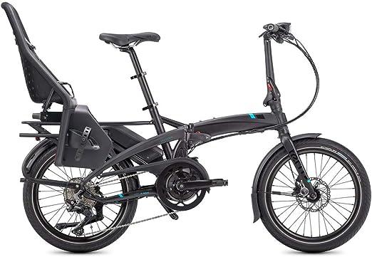 Tern Vektron S10 LR - Bicicleta eléctrica plegable, gris, 10 velocidades, 20