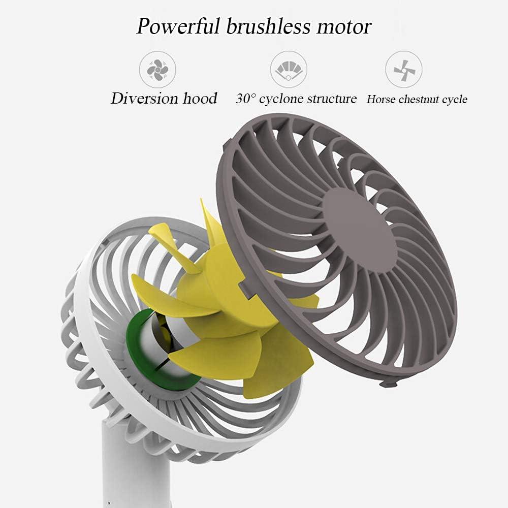 Mute Spray Koeling Elektrische Ventilator Afneembare Ventilator/luchtbevochtiger Combo Usb Oplaadbare Verstelbare Hoek Ventilator Voor Office/Home/Outdoor/Reizen Blauw aR5QKiQf