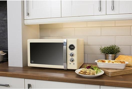 Swan – Juego de cocina aparato Retro crema 25L Digital moderna ...