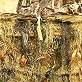 Red Rock Outdoor Gear Ghillie Blind Camouflage Netting, Woodland, 5ftx12ft