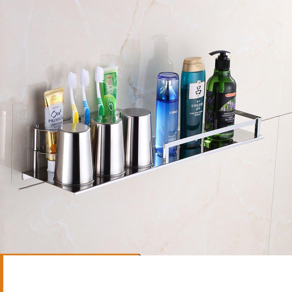 Hair Dryer Holder,Hair Dryer Shelf,Hair Blow Dryer Holder, Multifunctional Toothbrush Tumbler Holder Stainless Steel Bathroom Storage Racks Wall Mounted Rack Blower Shelf-E