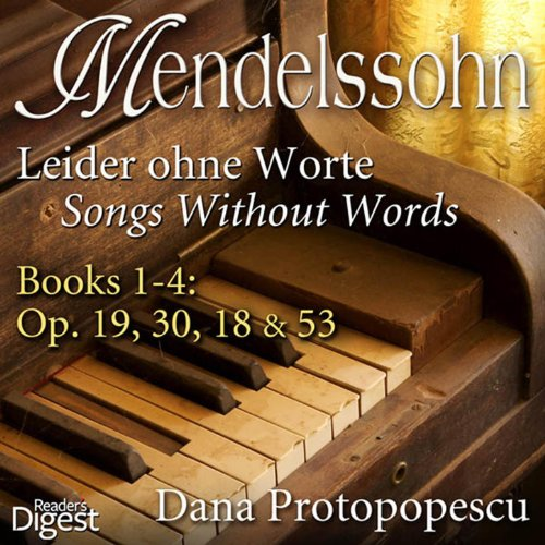 mendelssohn songs without words pdf