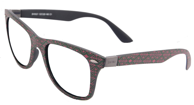 SHINU Blaue Licht Blockierende Leser Eyewear Anti-blaue Helle Rahmen ...