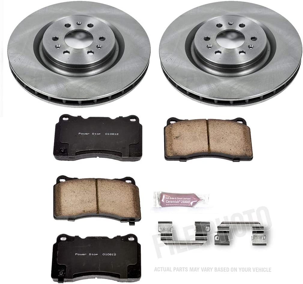 Autospecialty KOE2984 1-Click OE Replacement Brake Kit