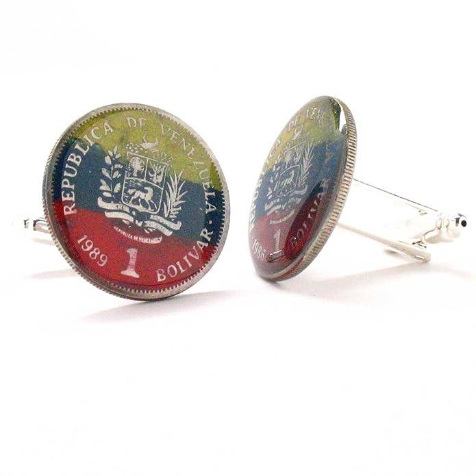 Amazon.com: Venezuela Cufflinks Cuff Links Flag Coin Gemelos Mancuernas Mancuernillas Joya Bandera Caracas Angel LDS Missionary Gift Venezolanos: Jewelry