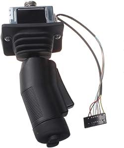 zt truck parts Joystick Controller 137634GT Fit for Genie Gen 6 GR-12 GR-15 GR-20 GRC-12 QS-12R QS-12W QS-15R QS-15W QS-20R QS-20W GS-1530 GS-1532 GS-1930 GS-1932 GS-2032 GS-2046 GS-2632 GS-2646