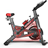 Quiet Spinning Bike, Suitable for Daily Aerobic Exercise/Slimming Plastic/Physical Exercise, Convenient for Indoor Use