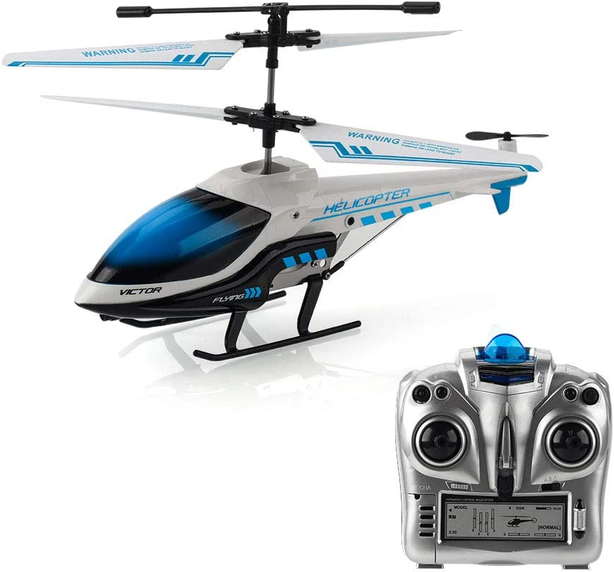 amazon com helicopters remote \u0026 app controlled vehicles toys \u0026 gamesremote control helicopter, koowheel rc helicopter with gyro 3 5 channel hobby alloy mini infrared rc