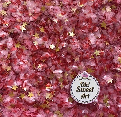 Edible Pink Glitter