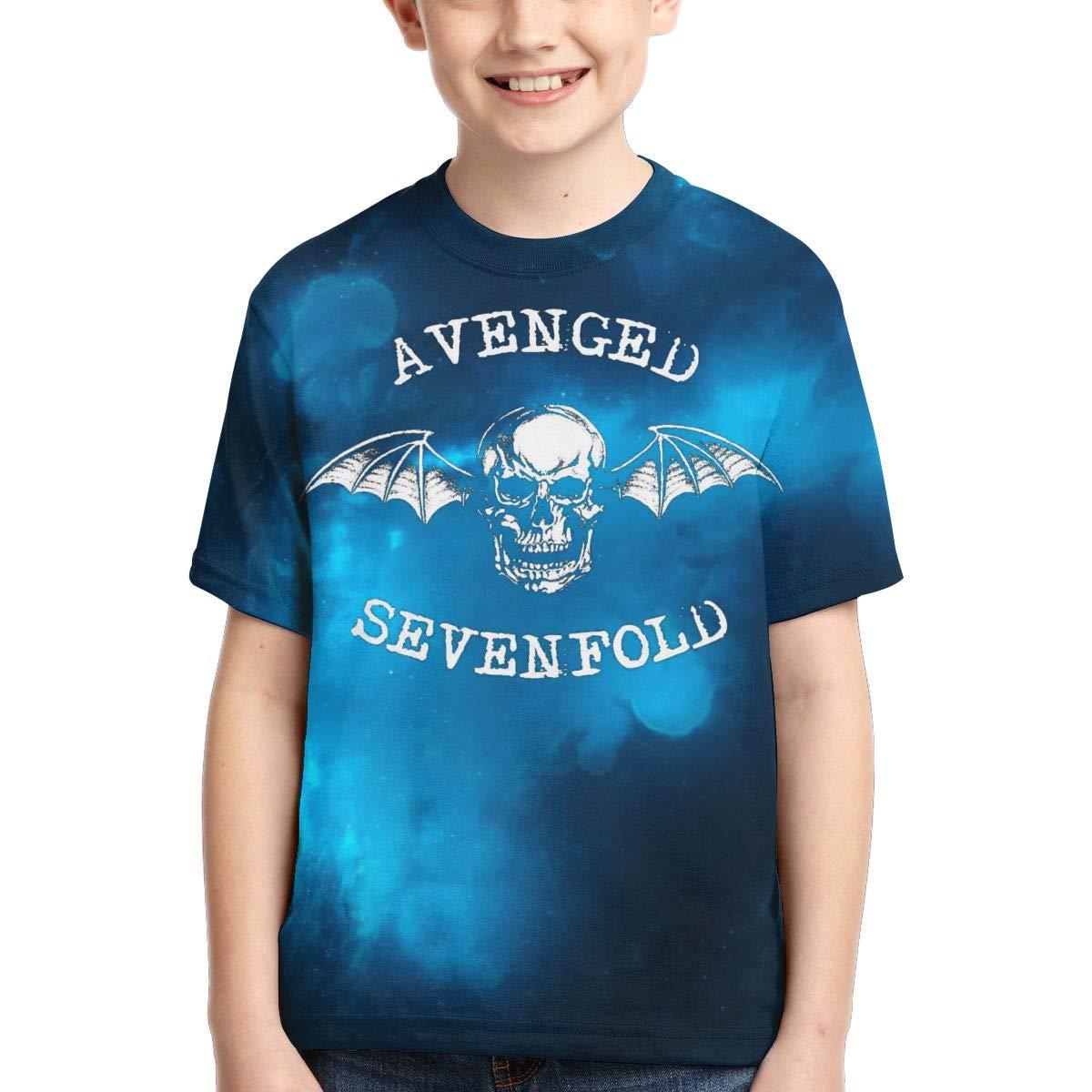 Zengqinglove Boys,Girls,Youth Avenged Sevenfold Tshirts