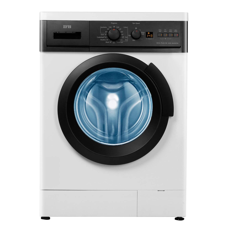 IFB 6 Kg Fully-Automatic Front Loading Washing Machine (Diva Plus BX, White)