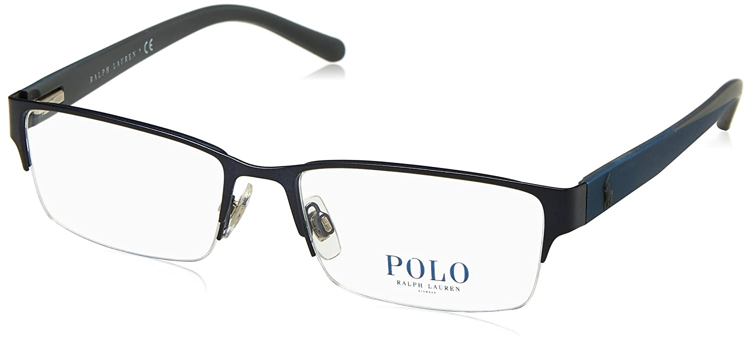 Polo Mens PH1152 Eyeglasses Matte Blue 54mm