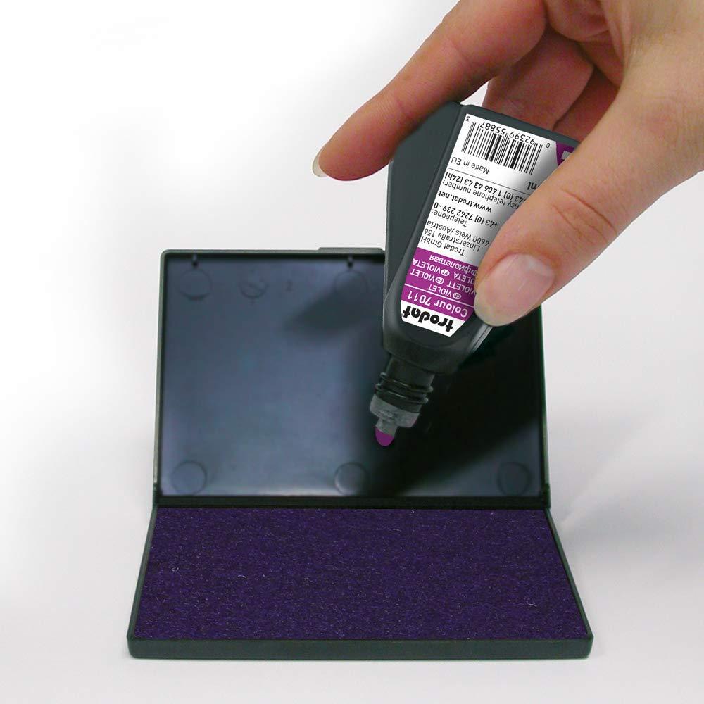 110 x 70 mm violett Trodat 9052 Handstempelkissen