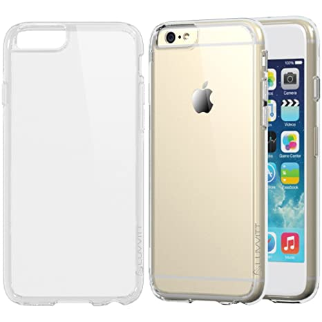 Luvvitt Carcasa transparente para iPhone 6S y 6, antigolpes ...