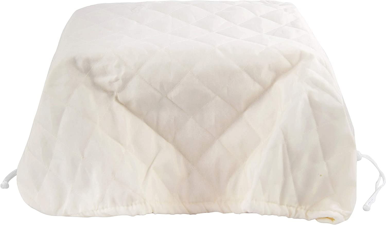 """Home-X Quilted Air Conditioner Cover, Cream Indoor Window AC Unit Winter Cover - 30"""" L x 24"""" W"""
