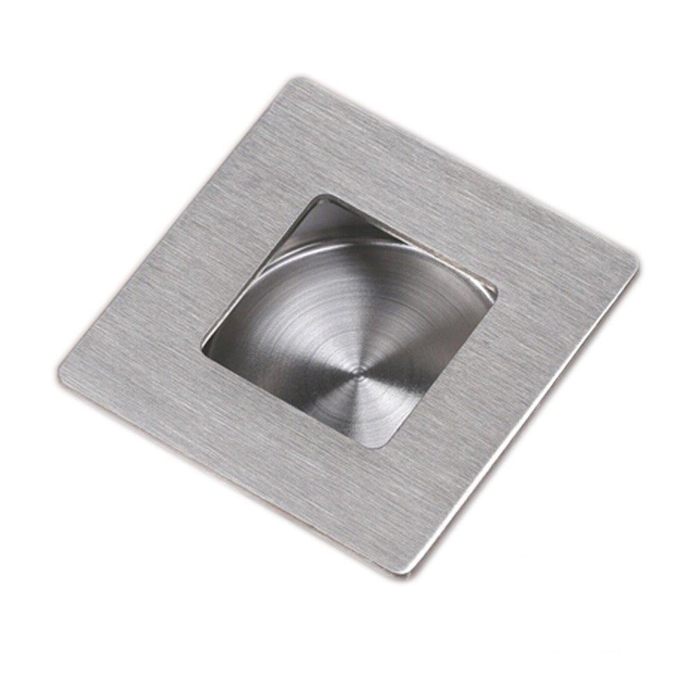 Square Kitchen Door Handles On Sale 1 Pc Square Recessed Sliding And Pocket Door Handles