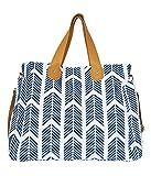 Arrows Weekender Bag by White Elm - Large Diaper Tote Bag
