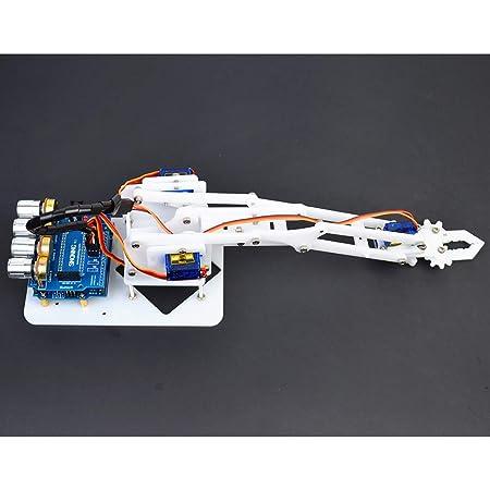Sharplace Brazo Mecánico Robótico con Placa Base de 4 Servos de ...