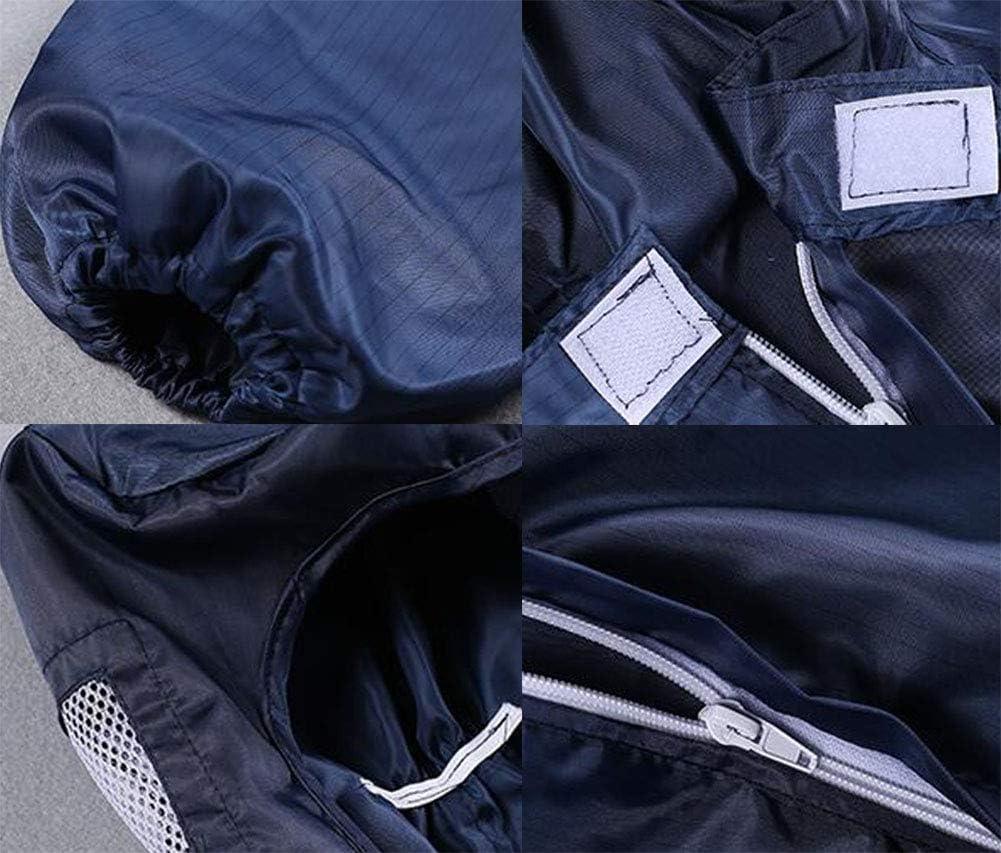 SHANGLY Isolation Overoles Protectores con Capucha Reutilizable Lavable a Prueba de Polvo Protecci/ón Ropa de Trabajo para la Industria de Pintura en Aerosol y electr/ónica