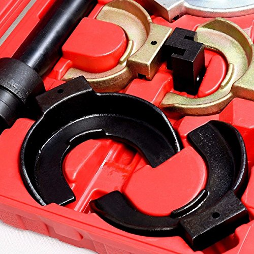 Coil Spring Compressor Interchangable Fork Strut Extractor Tool Set Complete Case - House Deals by House Deals (Image #3)