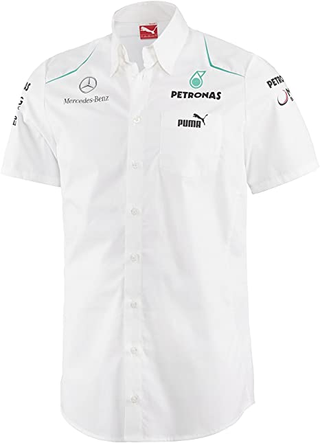 Mercedes Camisa Team Blanco XL: Amazon.es: Ropa y accesorios