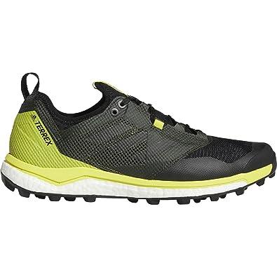 2376716508730 adidas outdoor Terrex Agravic XT Shoe - Men s Black Black Shock Yellow 6