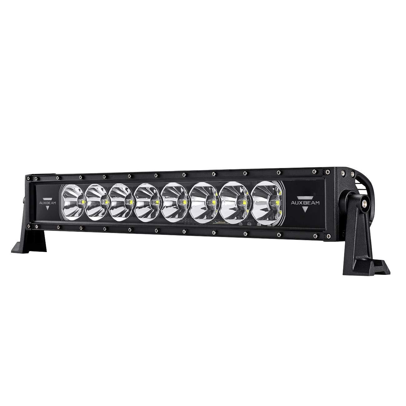 Auxbeam LED Arbeitsscheinwerfer 120W 12000lm 60 Grad Flutlicht &Cree LED 30 Grad Spotlight Auto Scheinwerfer Offroad Flutlicht 6000K Wasserdicht IP67 Arbeitslicht DC 10~30V