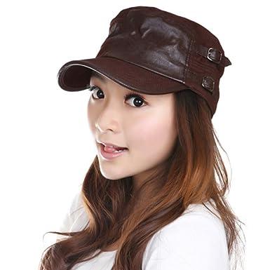 Women s Flat Cap Korean Version of The Cap Ladies Outdoor Leisure Cap Visor  Cap -A 4c79be7976f