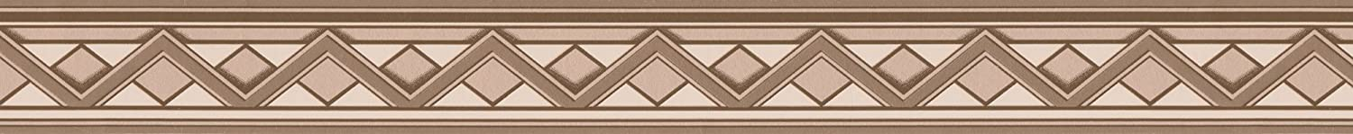 A.S Cr/éation selbstklebende Bord/üre Only Borders Borte 5,00 m x 0,05 m beige braun creme Made in Germany 936911 93691-1