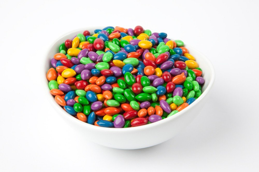 Assorted Chocolate Covered Sunflower Seeds (10 Pound Bag)