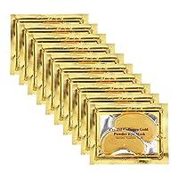 Adofect 24K Gold Collagen Eye Mask, Crystal Power Gel Collagen Eye Patches, Great...