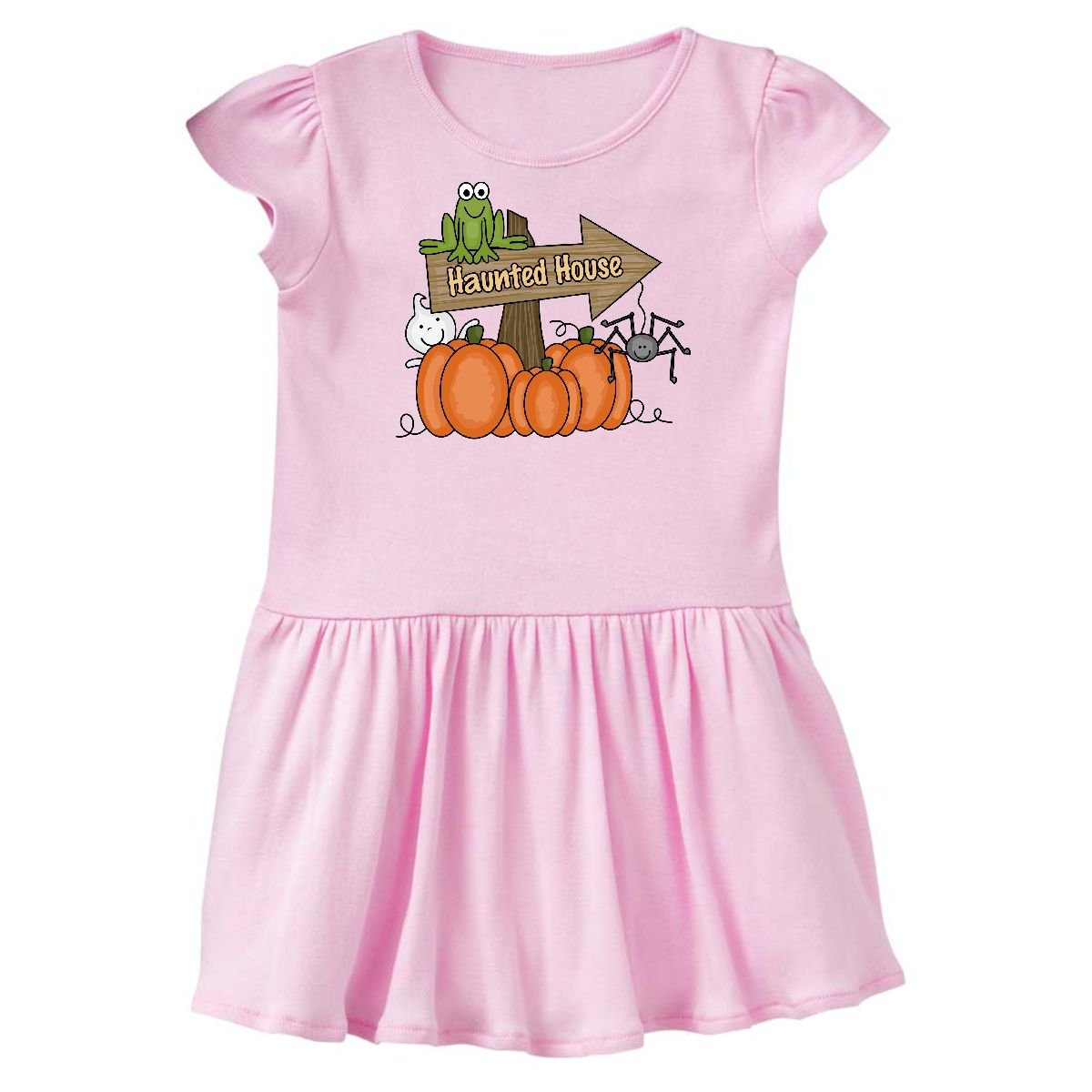 Amazon.com: inktastic Haunted House Sign Infant Dress: Clothing