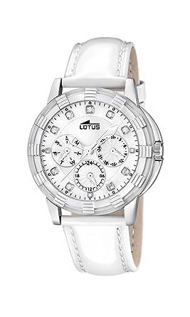 Lotus 15746/1 - Reloj analógico de Cuarzo para Mujer, Correa de Cuero Color