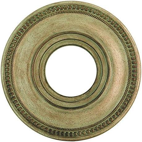 Livex Lighting 82072-71 Wingate Ceiling Medallion Hand Applied Venetian Golden Bronze