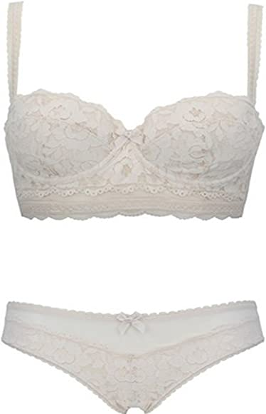 36B  MARKS /& SPENCERS BEIGE NON WIRE JACQUARD LACE FULL CUP  BRA  NEW