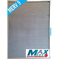 5-Stage CERTIFIED MERV RATED Electrostatic Washable Permanent Furnace A/C Air Filter – The highest MERV rating of any lifetime filter - Traps particles including MOLD POLLEN SMOKE PET DANDER (12x24x1)