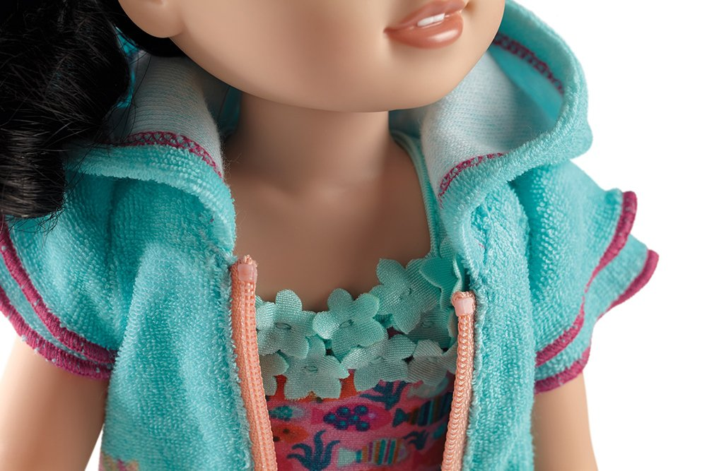 Toys DYP40 American Girl WellieWishers Fun Fish Swimsuit /& Cover-Up for Dolls American Girl