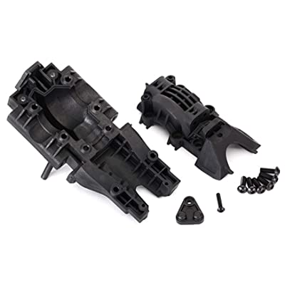 Traxxas 8629 Rear Bulkhead, Black: Toys & Games