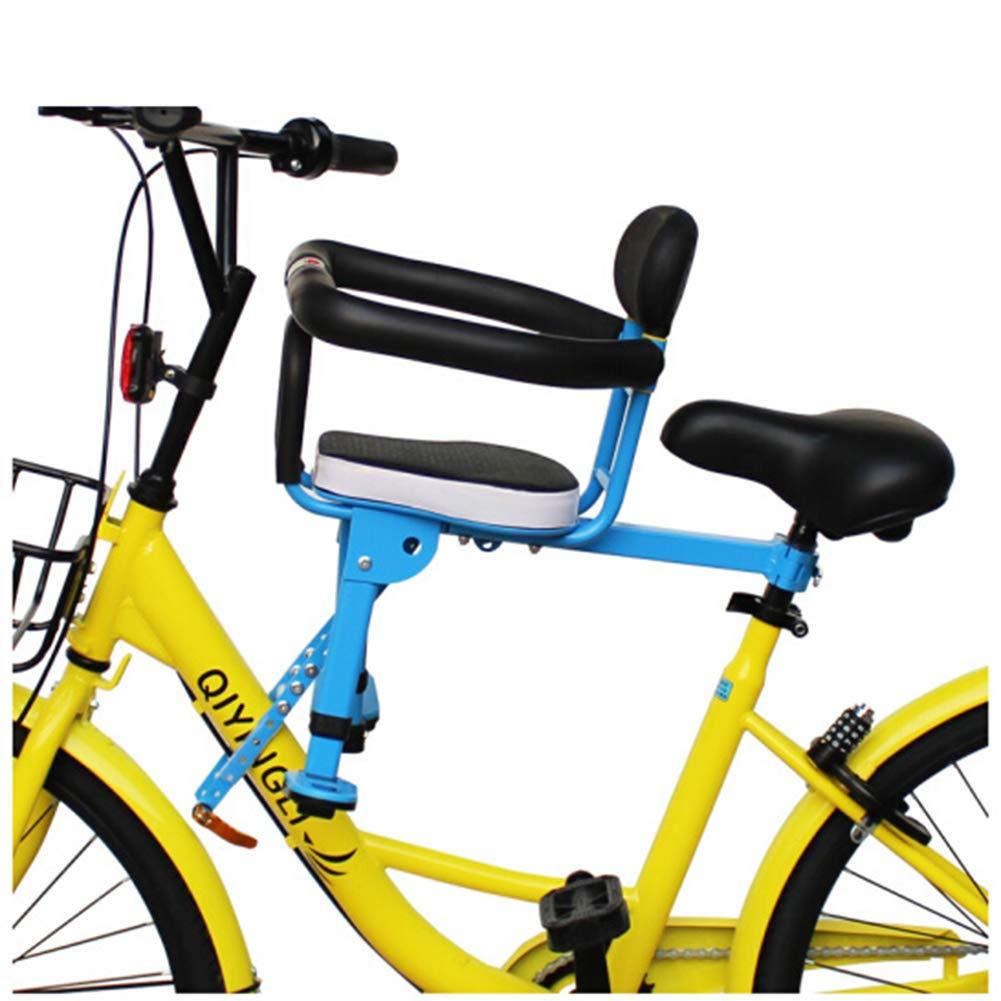 JT Fahrrad-Kindersitz Vorne Klapp Bare Sicherheitssitze Schnell Freigabe Vollzaun