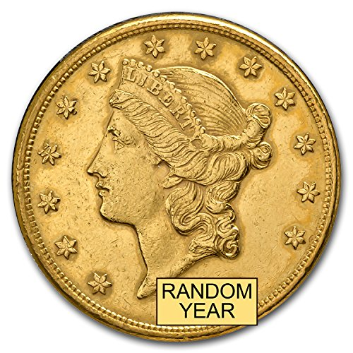 1850-1907 $20 Liberty Gold Double Eagle (Cleaned) G$20 Very Good