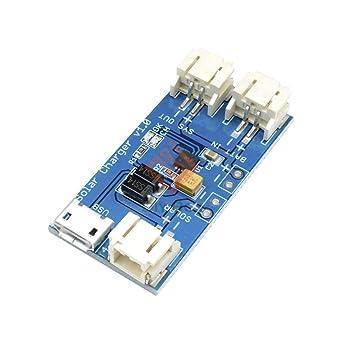Amazon.com: CN3065 Mini Cargador de Batería Solar Lipo ...