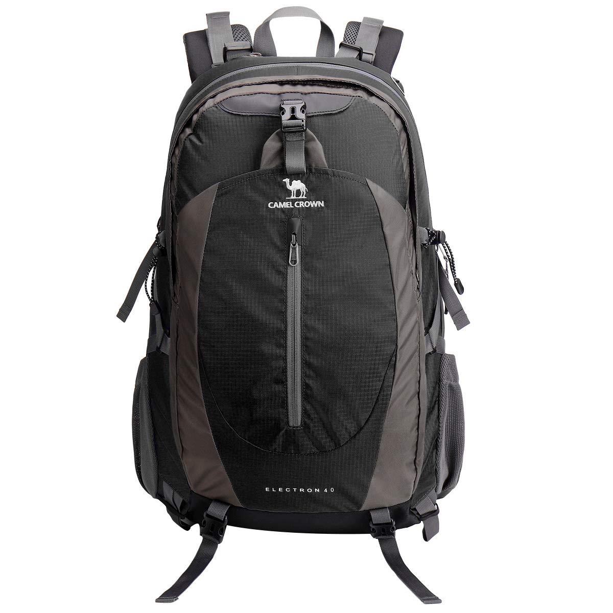 CAMEL CROWN 40L 50L Waterproof Hiking Backpack Travel Daypack Backpacks Trekking