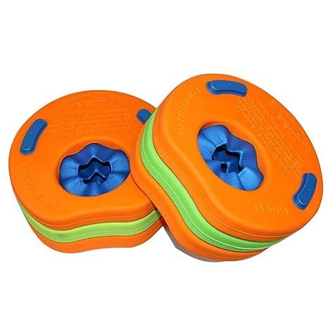 Anam Kids Natación Aprendizaje Natación Arm Discos Niños Flotador, discos de piscina Brazo Banda